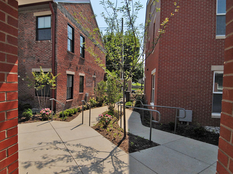 New Directions Housing Corporation - Courtyard